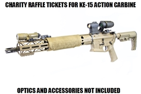 Keona Medical Expense Charity Rifle Raffle Ticket